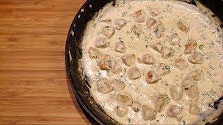 Creamy Mushroom Pasta Sauce