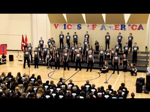Elkhorn Valley View Middle School 2012 Fall Choir Concert - 7-8 Voltage Show Choir - Stand Together