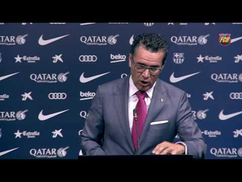 El portavoz de la Junta explica que el FC Barcelona ha batido un nuevo récord de ingresos (2015/16)