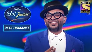 Benny Dayal Rocks The Stage With The Bang Bang Song! | Indian Idol Junior 2