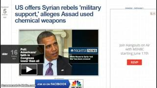 OMG! WTF! Obama Now Supports Syrian Rebels, Syrian Rebels Pledge Loyalty to al-Qaeda!