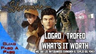 Video de Shenmue HD | Logro / Trofeo: What's It Worth