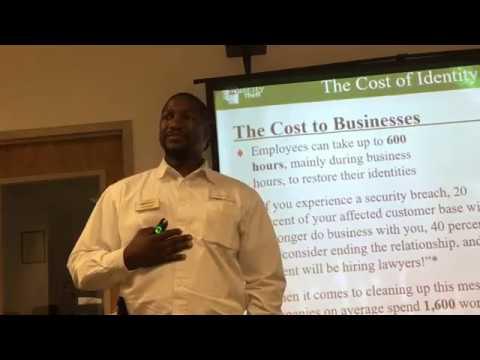 CSBCC - Feature Presentation - James Flowers w/ LegalShield - April 2017