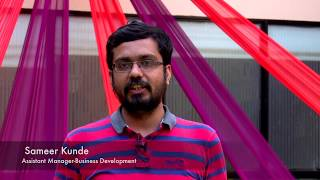 Employee Speaks: Sameer Kunde, Assistant Manager - Business Development