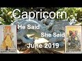 Capricorn JUNE 2019 WHAT IS HIDDEN? He Said She Said Tarot Reading