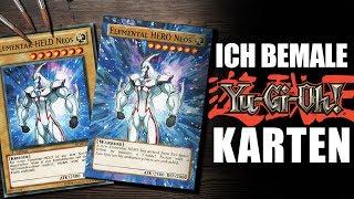 Ich bemale alte YU-GI-OH! Karten | Drawinglikeasir