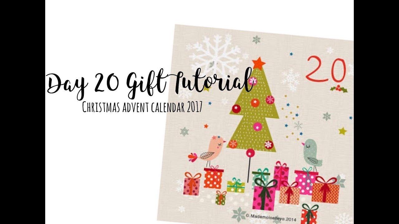 DIY December Daily Album tassel (#giftmas Scrappy Advent Calendar ...
