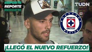 ¡Llega a México el nuevo refuerzo del Cruz Azul! | TUDN