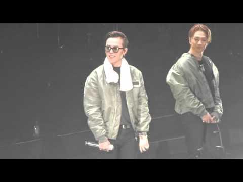 FANCAM 151017 Closing talk & Fantastic Baby BIGBANG MADE CONCERT 2015 SYDNEY