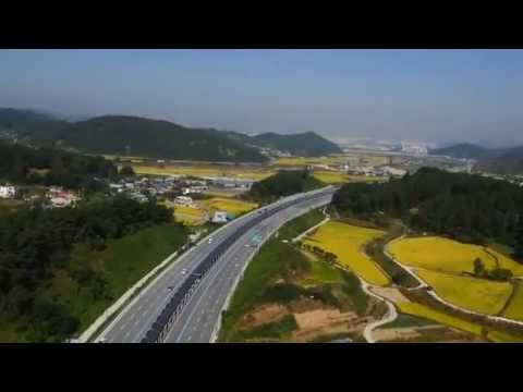 How South Korea produces clear energy by using solar panel in highway