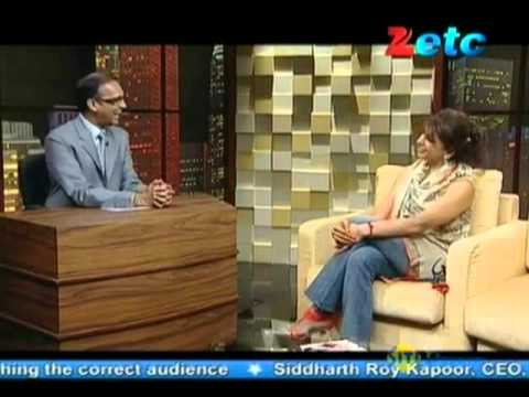 Komal Nahta with Anita Raaj