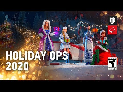 World Of Tanks 2020 Christmas Boxes Tank Camop Holiday Ops 2020