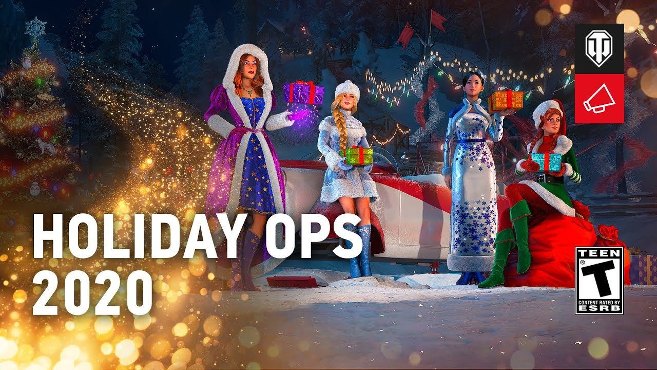 World Of Tanks Christmas Collection Camo 2020 Holiday Ops 2020