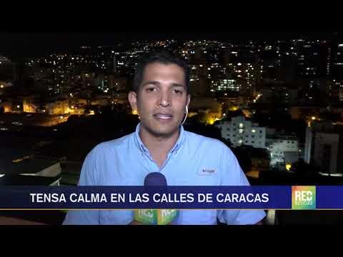 RED+ | Tensa calma en las calles de Caracas