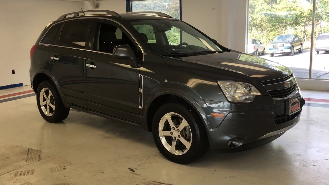 2013 Chevy Captiva Blue Us509672 Youtube