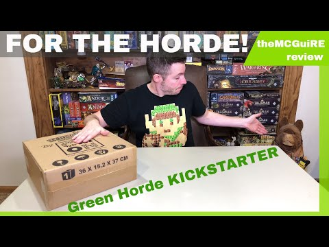 Zombicide GREEN HORDE Board Game Unboxing Miniature Review
