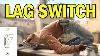 LAG SWITCH HACKER - CS GO LAG CHEAT - OVERWATCH