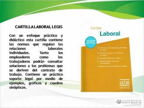 cartilla laboral legis 2012 gratis