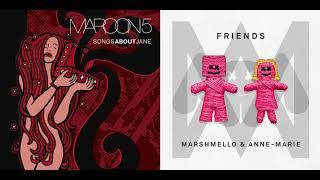 Maroon 5 vs Marshmello ft Anne Marie - This Love vs Friends (Mashup)