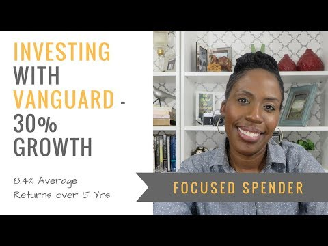 Investing with Vanguard Financial Services - 30% Growth