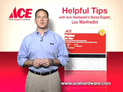 Helpful tips on maintaining your furnace - Ace Hardware
