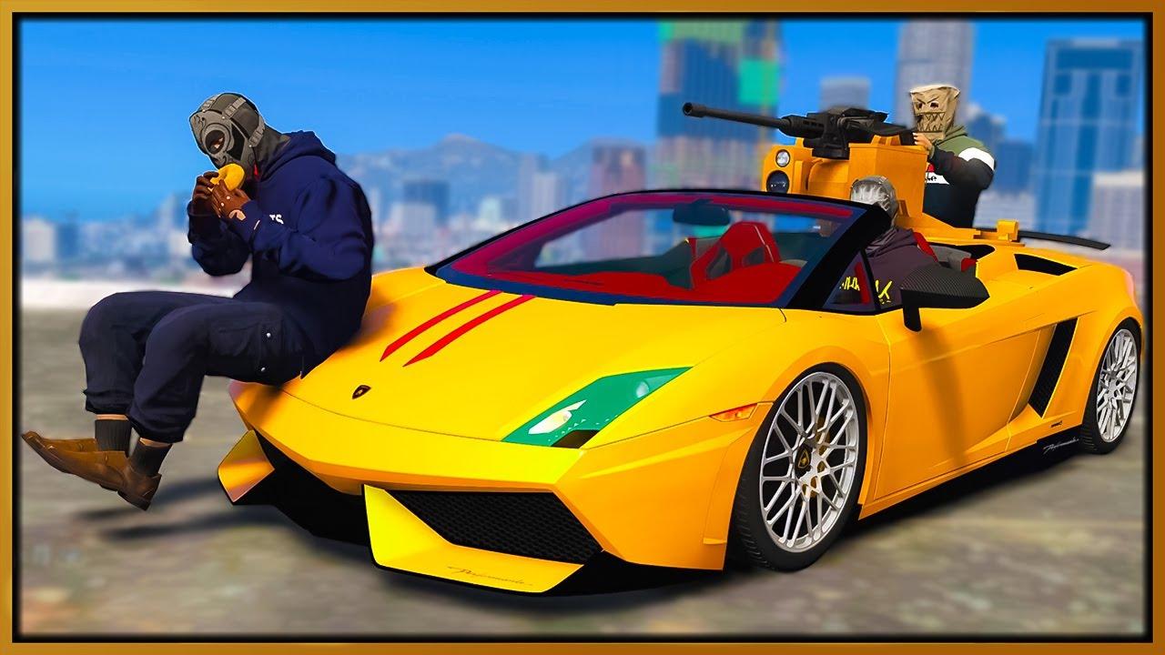 GTA 5 Roleplay - CUSTOM LAMBORGHINI TURRET CAR DESTROYING COPS | RedlineRP