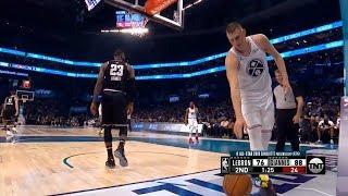 Nikola Jokic got jokes on LeBron James | 2019 All-Star Game