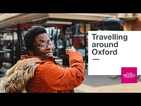 Travelling Around Oxford | Oxford Brookes University