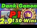 Dank Ganon 150 Wins Gameplays Global Tournament Clash Royale mp3