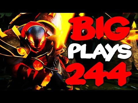 Dota 2 - Big Plays Moments - Ep. 244