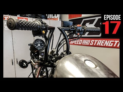 Awesome Bobber Hand Controls Install - Bike Build - Ep.17