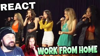 Baixar REAGINDO: FIFTH HARMONY - WORK FROM HOME (LIVE REACT)
