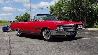 1964 Buick Wildcat Convertible in Red Paint & Engine Start Up on My Car Story with Lou Costabile