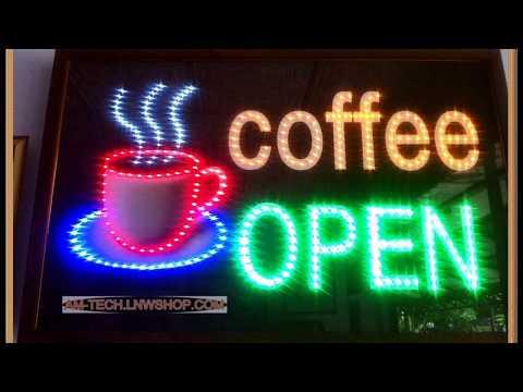 ไฟประดับตกแต่งร้านกาแฟ-ควบคุมระบบด้วยไมโครคอนโทรลเลอร์