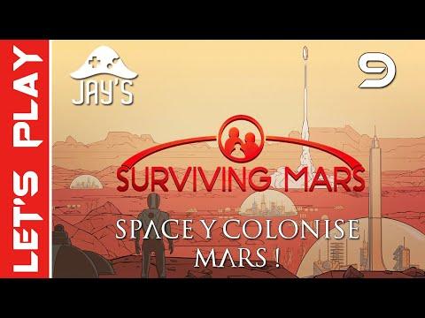 [FR] Surviving Mars : Space Y colonise Mars sur le mont Olympus ! - Épisode 9