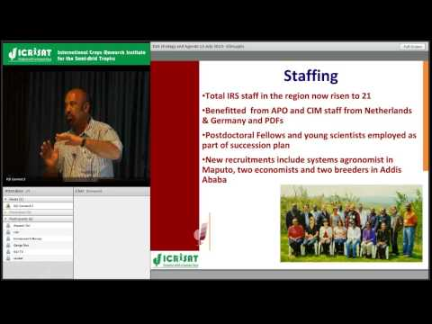 ICRISAT Eastern and Southern Africa -- Team, research and re