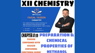 Gambar cover Class XII organic chemistry ( chapter #09 ) (Preparation and chemical properties of Methanol