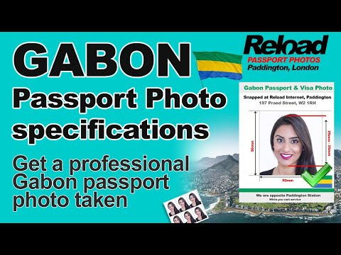 Get your Gabon Passport Photo and Visa Photo snapped instantly in Paddington, London