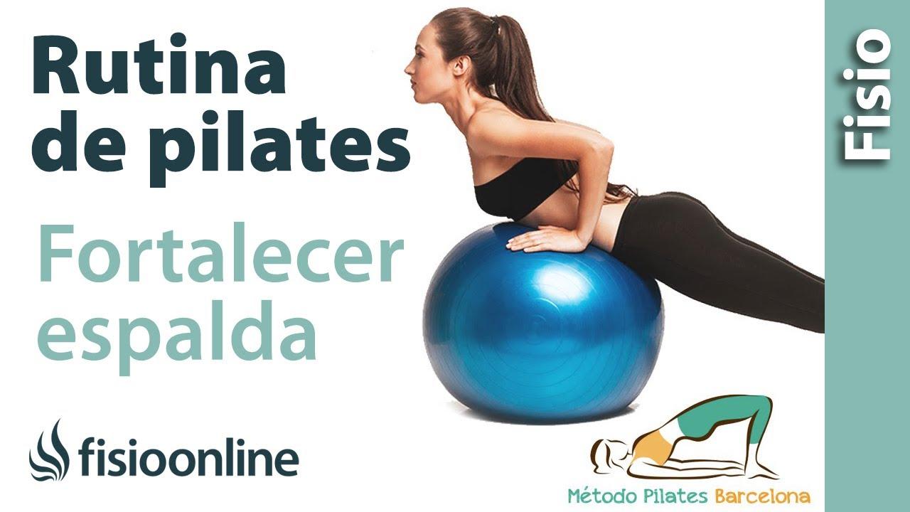 Tablas de ejercicios de pilates para hacer en casa