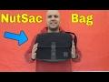 NutSac Bags Satchel Pro Review-Black Full Grain Leather