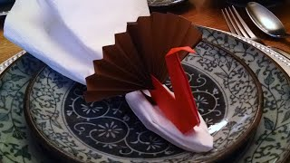 How To Make Turkey Origami - Step By Step