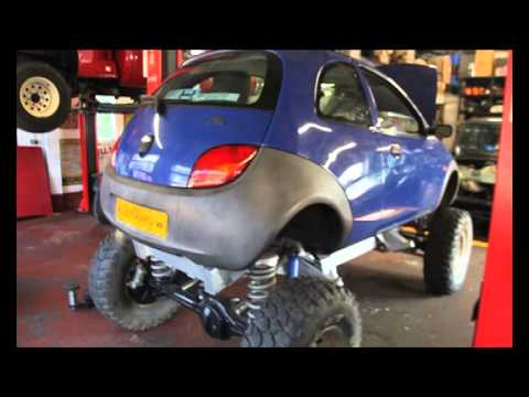 Project Diskavery Update Discovery Ford Ka 46 Rover V8 Powered