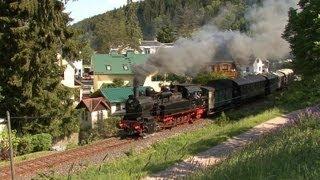 Mit 94 1538 von Ilmenau und Stützerbach zum Rennsteig Dampflok / Eisenbahn / Steam Train