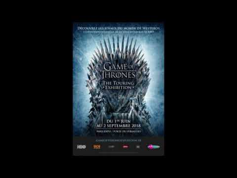 Exposition Game of Thrones The Touring Exhibition