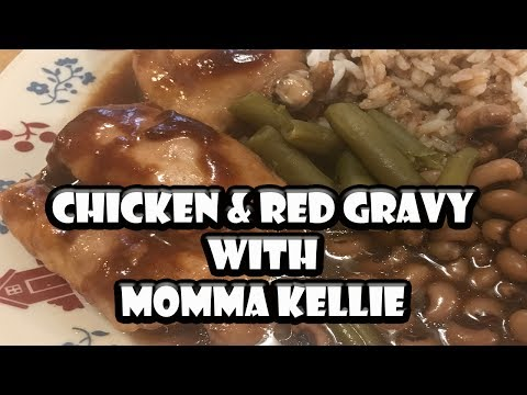 Chicken & Red Gravy with Momma Kellie | BUMMERS BAR-B-Q & SOUTHERN COOKING