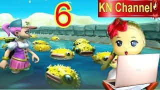 Trò chơi KN Channel FARM TOGETHER tập 6 | BẮT CÁ NÓC VÀ GẶP BẠN TRAI TRONG NÔNG TRẠI BÉ NA