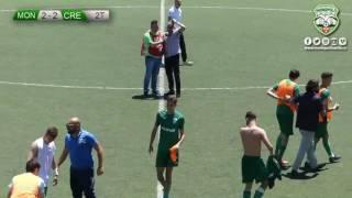 under 17:gol,Monopoli - Cremonese e interviste bordo campo con comm...