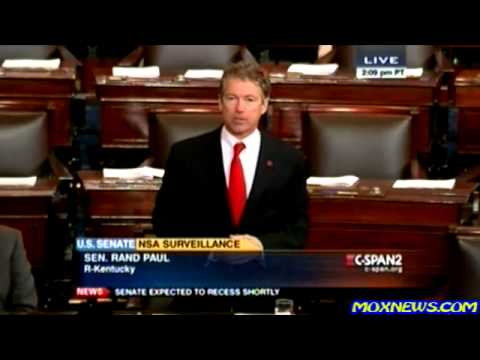 """WHAT ABOUT USING THE CONSTITUTION!"" Senator Rand Paul"