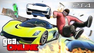 GTA 5 Online (PS4) - Воздушный багет! #101