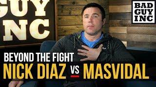 Nick Diaz vs Jorge Masvidal, I love it…